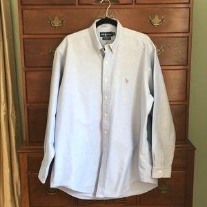 Ralph Lauren Yarmouth Cotton Oxford 16.5/35
